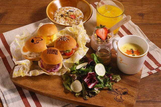 PEANUTS HOTEL 朝食