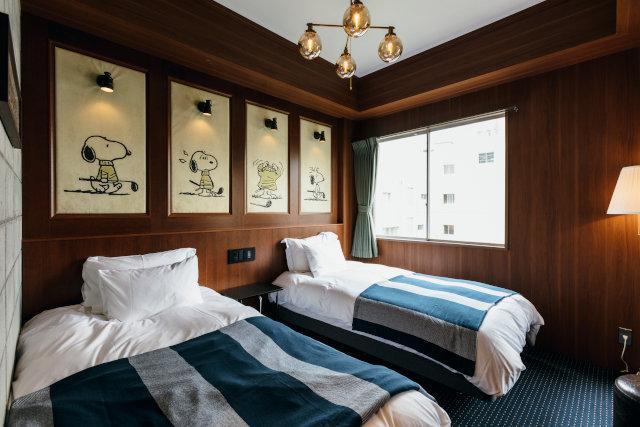 PEANUTS HOTEL Room55 部屋写真