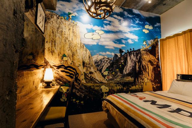 PEANUTS HOTEL Room56 部屋写真